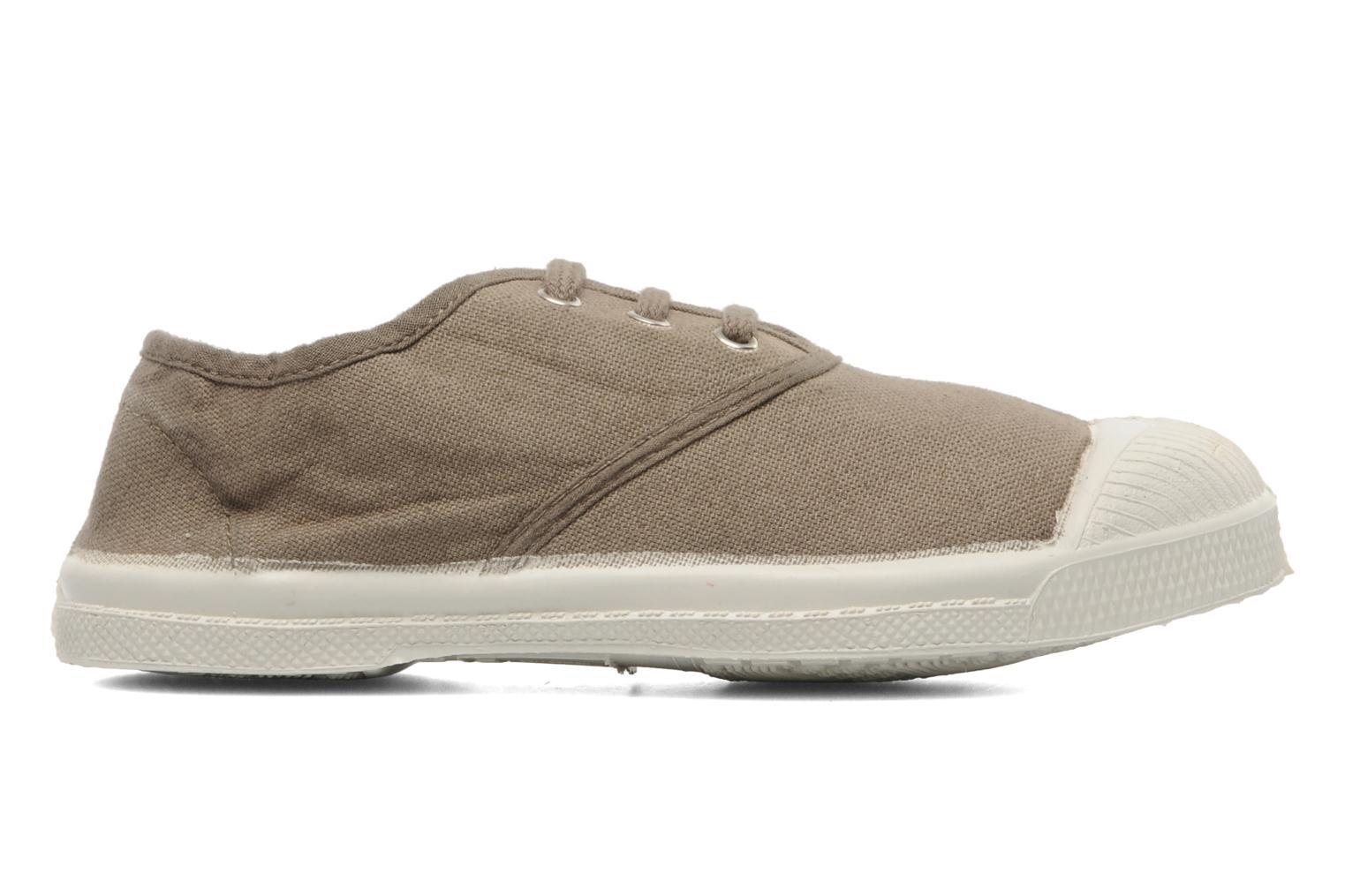 Trainers Bensimon Tennis Lacets E Beige back view