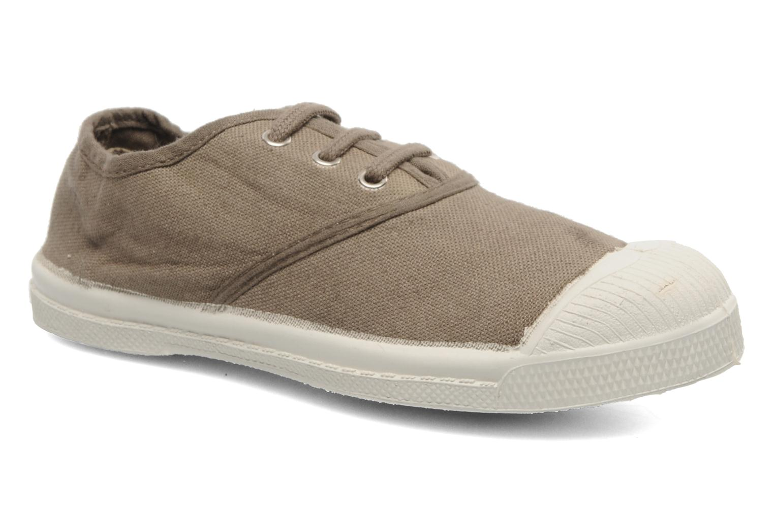 Tennis Lacets E Dark beige