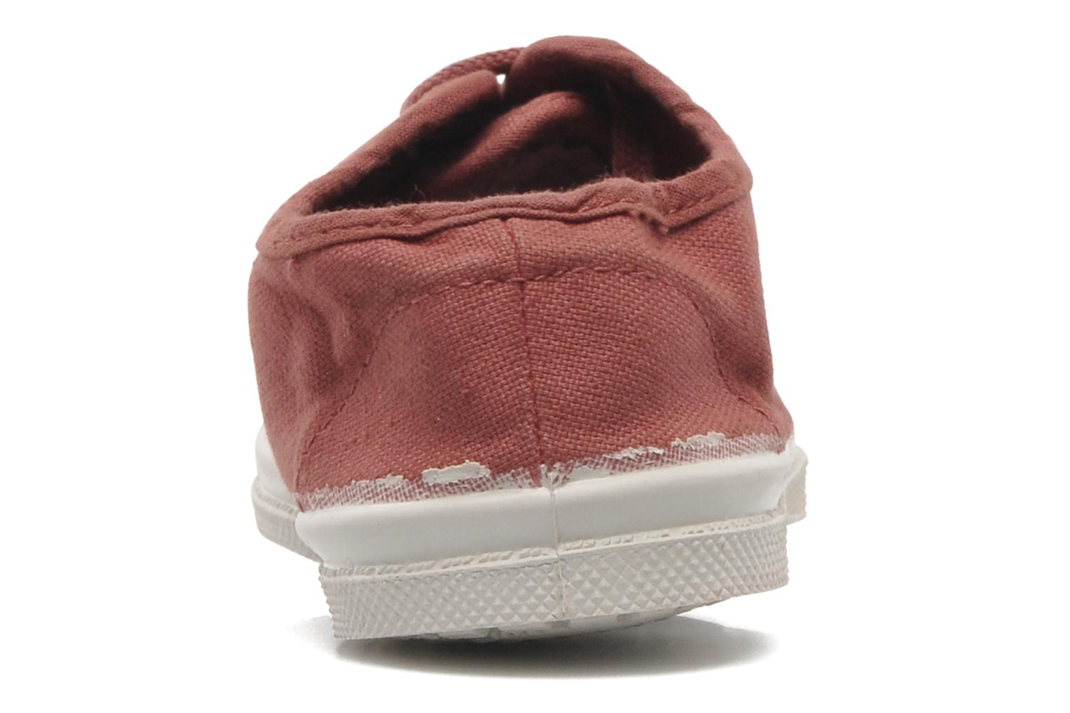 Tennis Lacets E Rose Ballerine