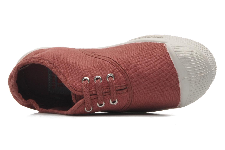 Sneaker Bensimon Tennis Lacets E rosa ansicht von links