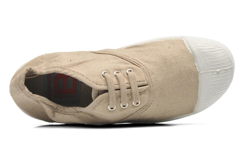 Sneaker Bensimon Tennis Lacets E beige ansicht von hinten