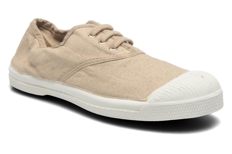 Sneaker Bensimon Tennis Lacets E beige detaillierte ansicht/modell