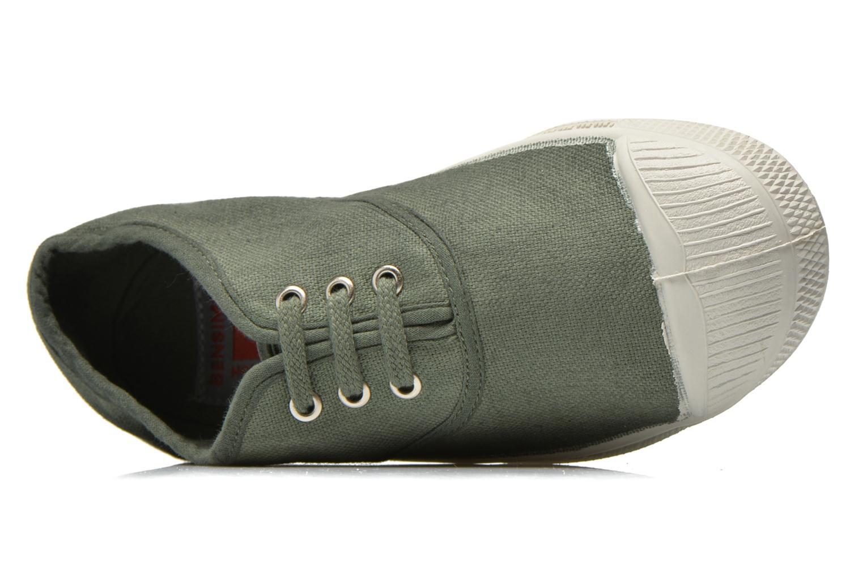 Sneakers Bensimon Tennis Lacets E Grön bild från vänster sidan