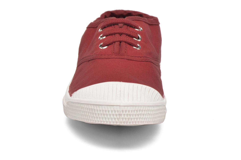 Sneakers Bensimon Tennis Lacets E Röd bild av skorna på