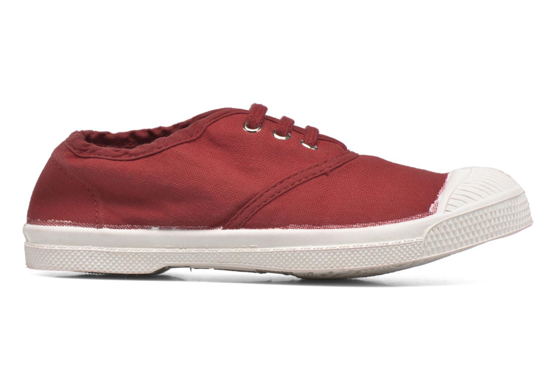 Sneakers Bensimon Tennis Lacets E Röd bild från baksidan