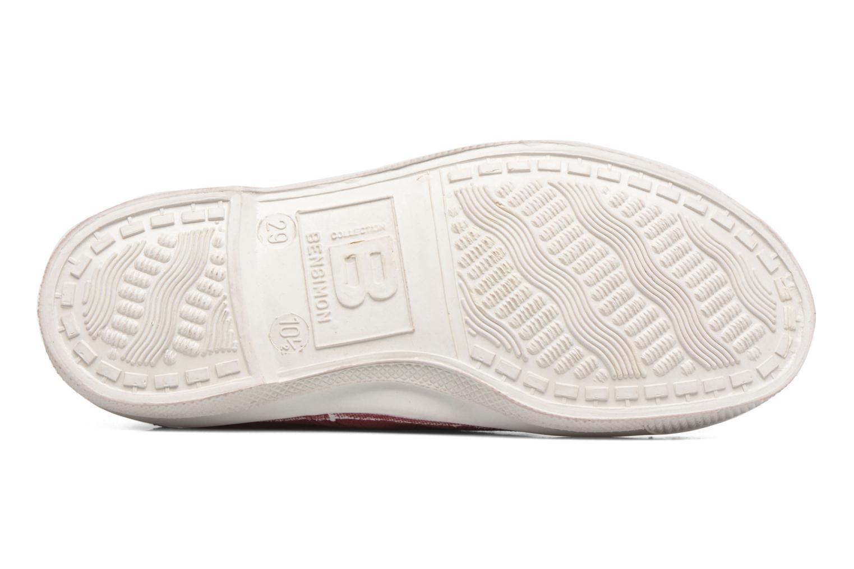 Sneakers Bensimon Tennis Lacets E Röd bild från ovan