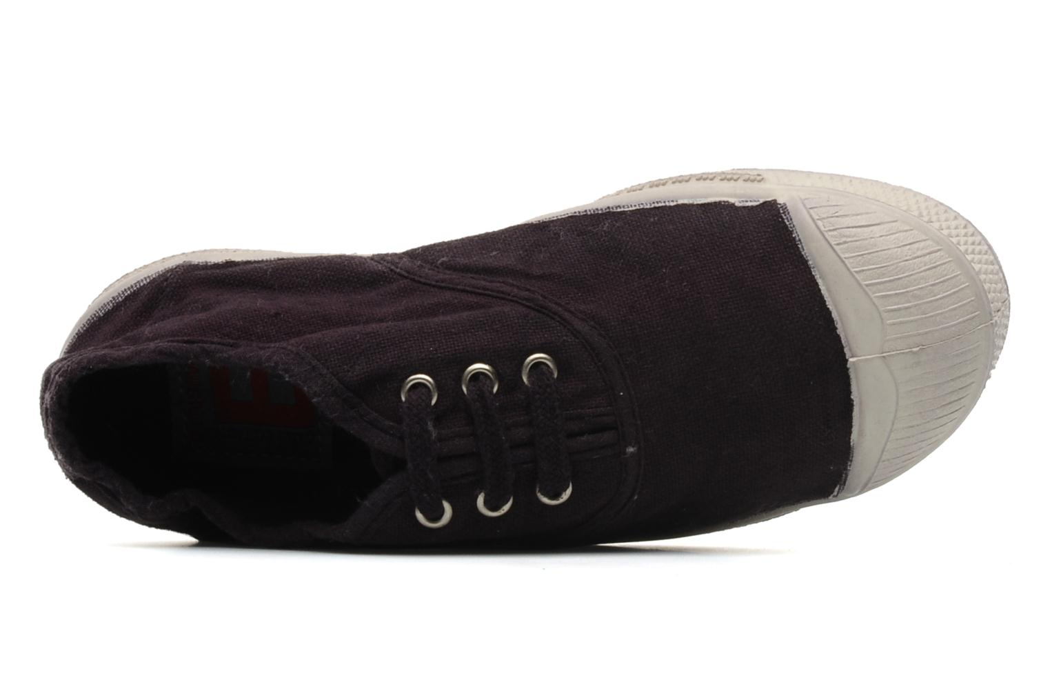 Trainers Bensimon Tennis Lacets E Purple view from the left