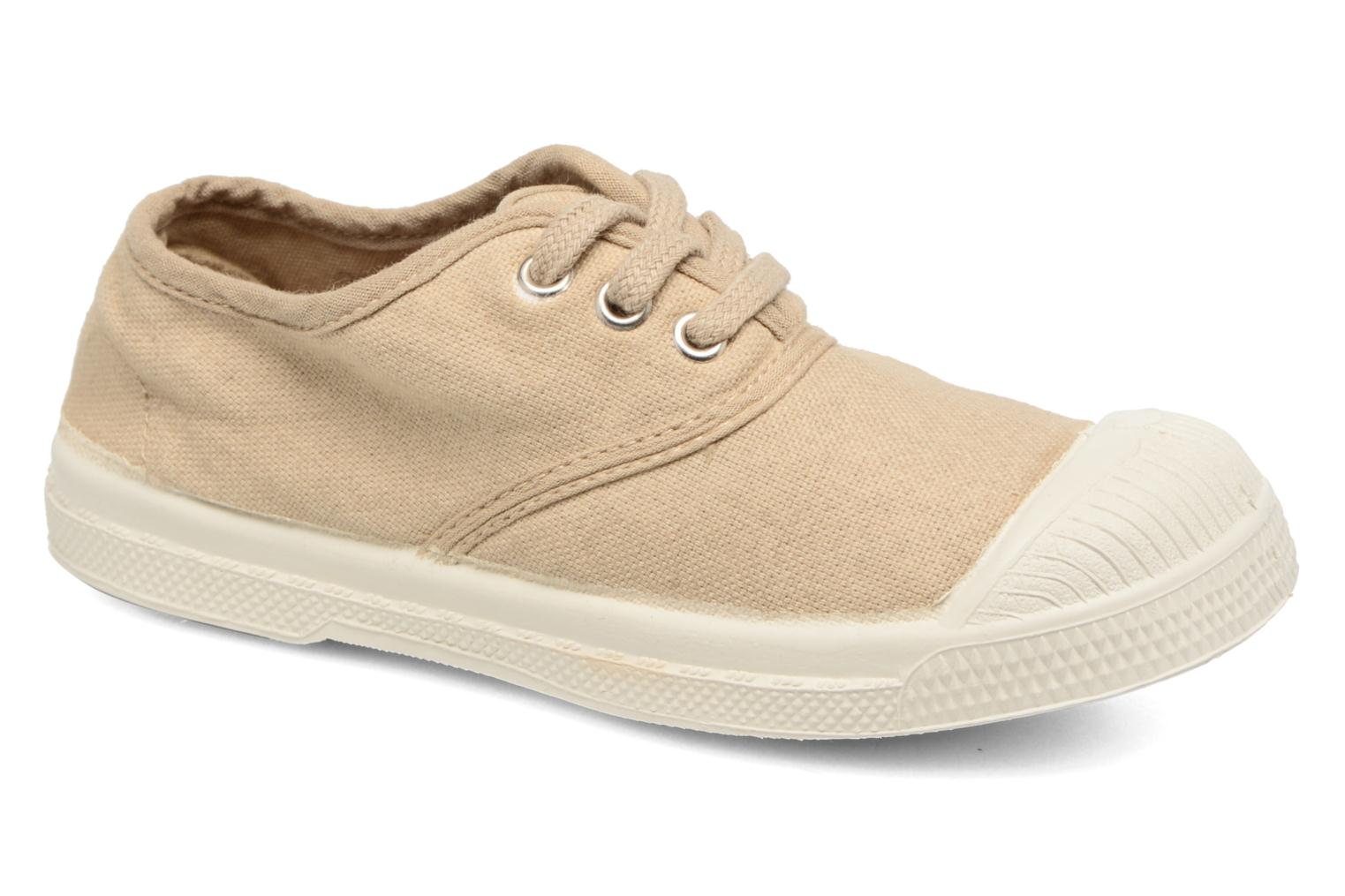 Sneakers Bensimon Tennis Lacets E Beige detail