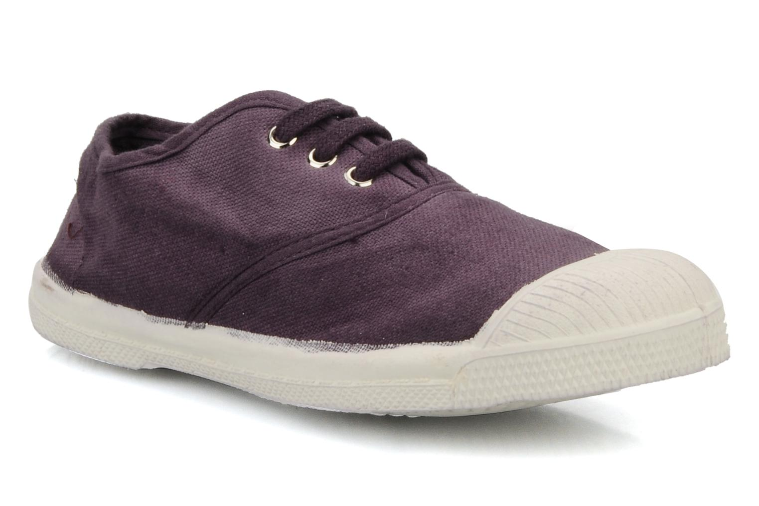 Sneakers Bensimon Tennis Lacets E Paars detail