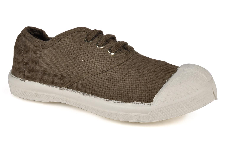 Sneakers Bensimon Tennis Lacets E Brun detaljeret billede af skoene