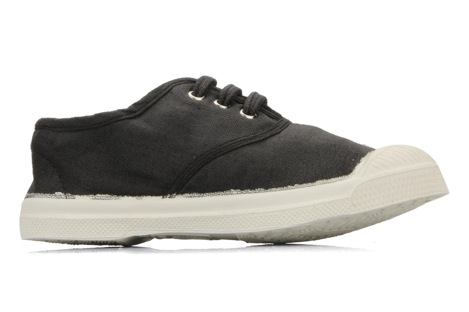 Trainers Bensimon Tennis Lacets E Black back view