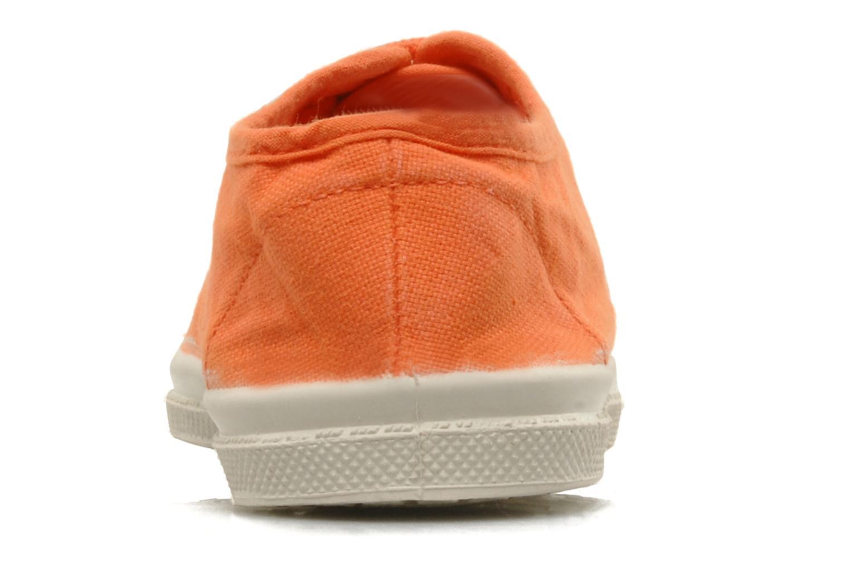 Baskets Bensimon Tennis Lacets E Orange vue droite
