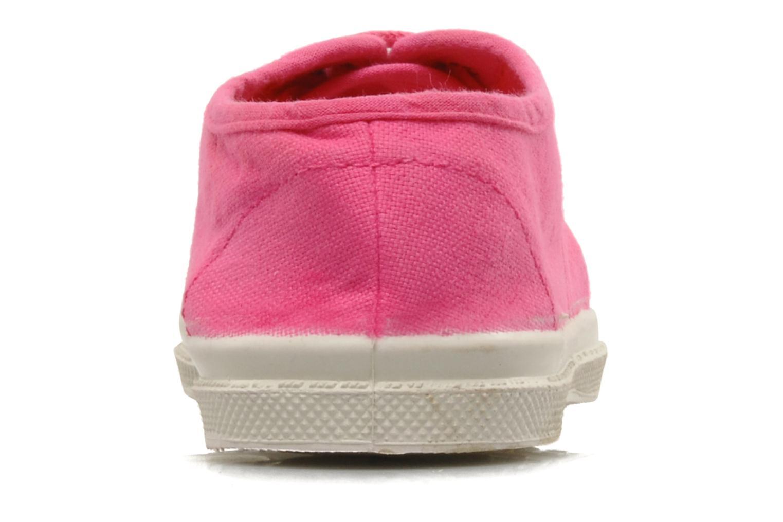 Sneaker Bensimon Tennis Lacets E rosa ansicht von rechts