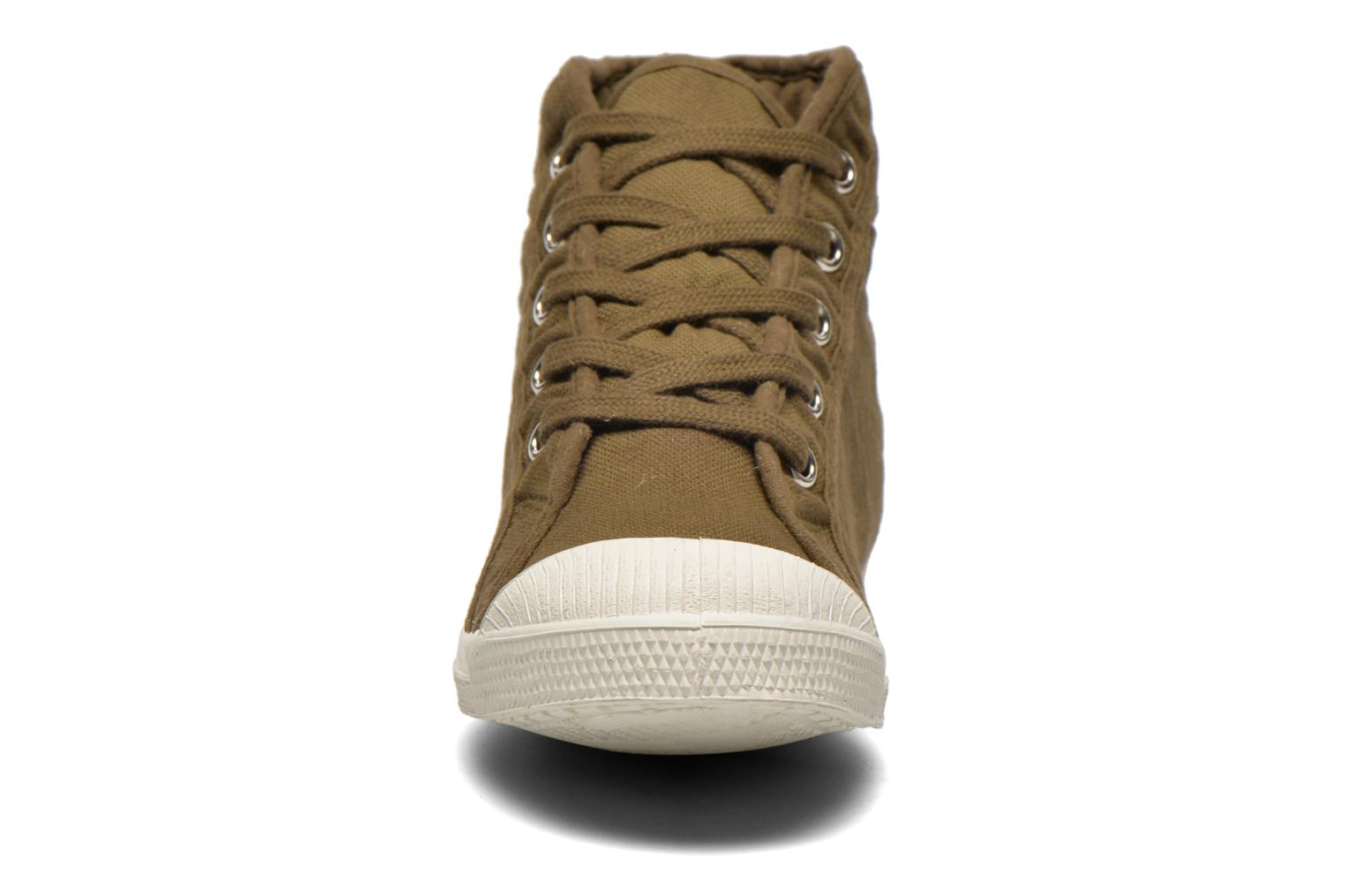 Trainers Bensimon Tennis Mid E Green model view