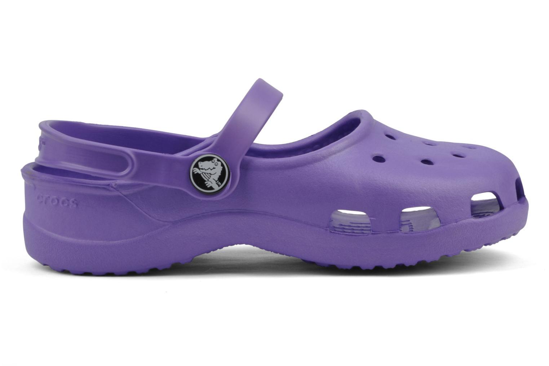 Sandalen Crocs Girls Mary Jane Paars achterkant