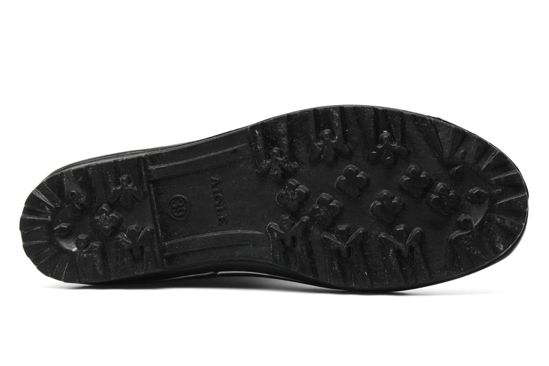 Bottes Aigle Venise Noir vue haut