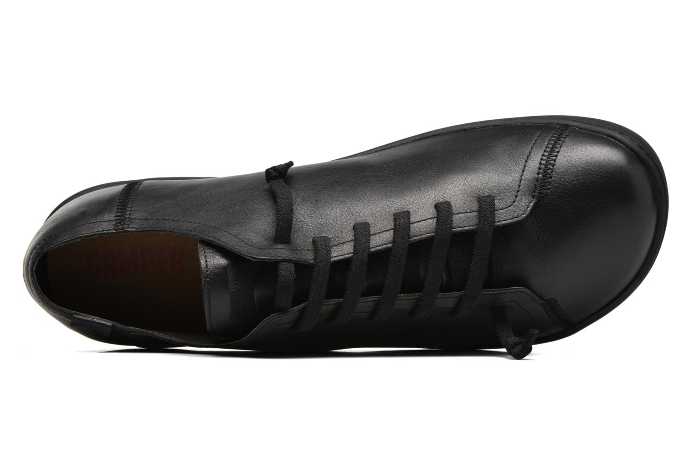 Scarpe con lacci Camper Peu Cami 17665 Nero immagine sinistra