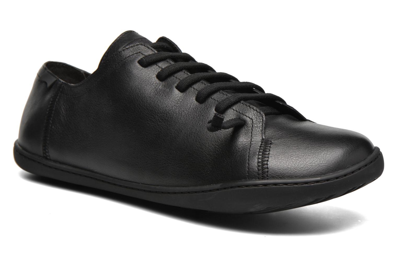 Snøresko Camper Peu Cami 17665 Sort detaljeret billede af skoene