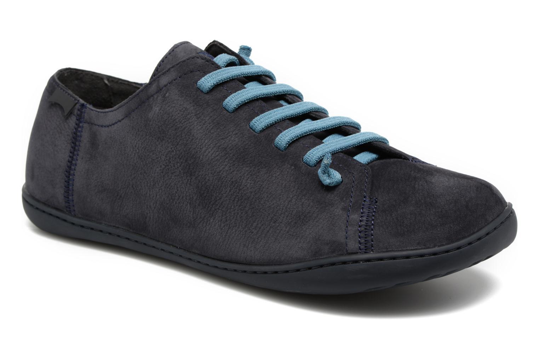 Snøresko Camper Peu Cami 17665 Blå detaljeret billede af skoene