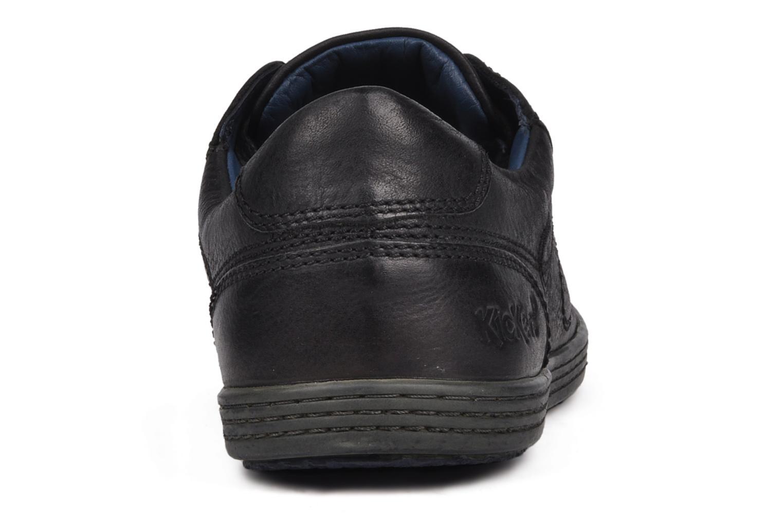 Baskets Kickers Amazony Noir vue droite
