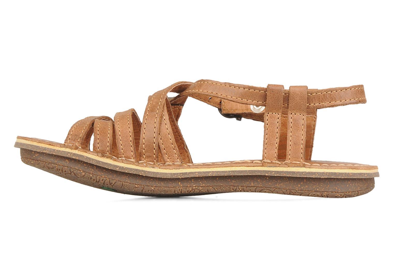 Sandales et nu-pieds Kickers Pinuts Marron vue face