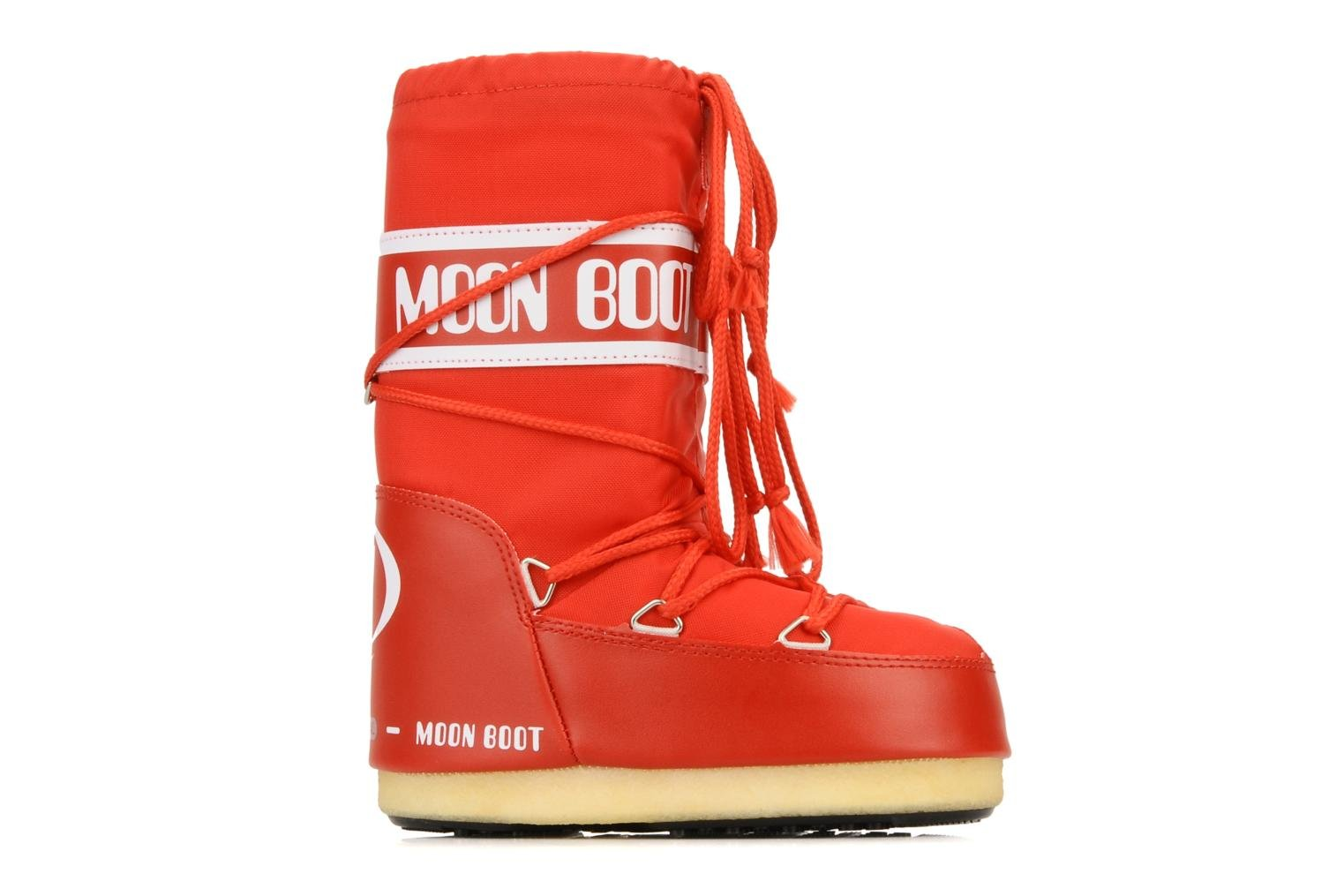 Moon Boot Nylon E Red