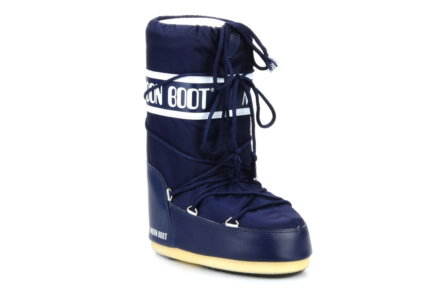 Sport shoes Moon Boot Moon Boot Nylon E Blue detailed view/ Pair view