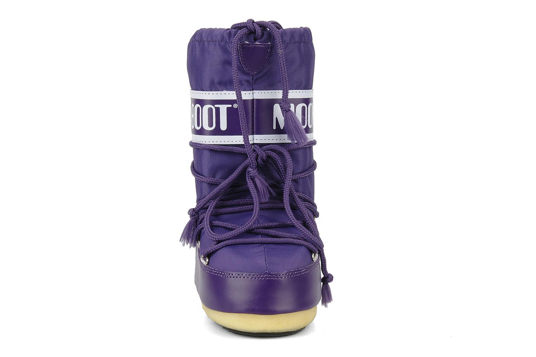 Scarpe sportive Moon Boot Moon Boot Nylon E Viola modello indossato