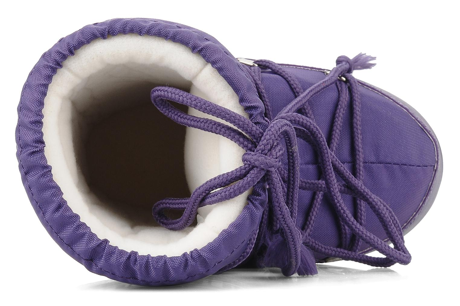 Sport shoes Moon Boot Moon Boot Nylon E Purple view from the left