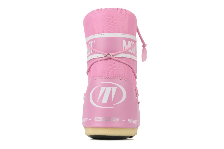 Sportschuhe Moon Boot Moon Boot Nylon E rosa ansicht von rechts