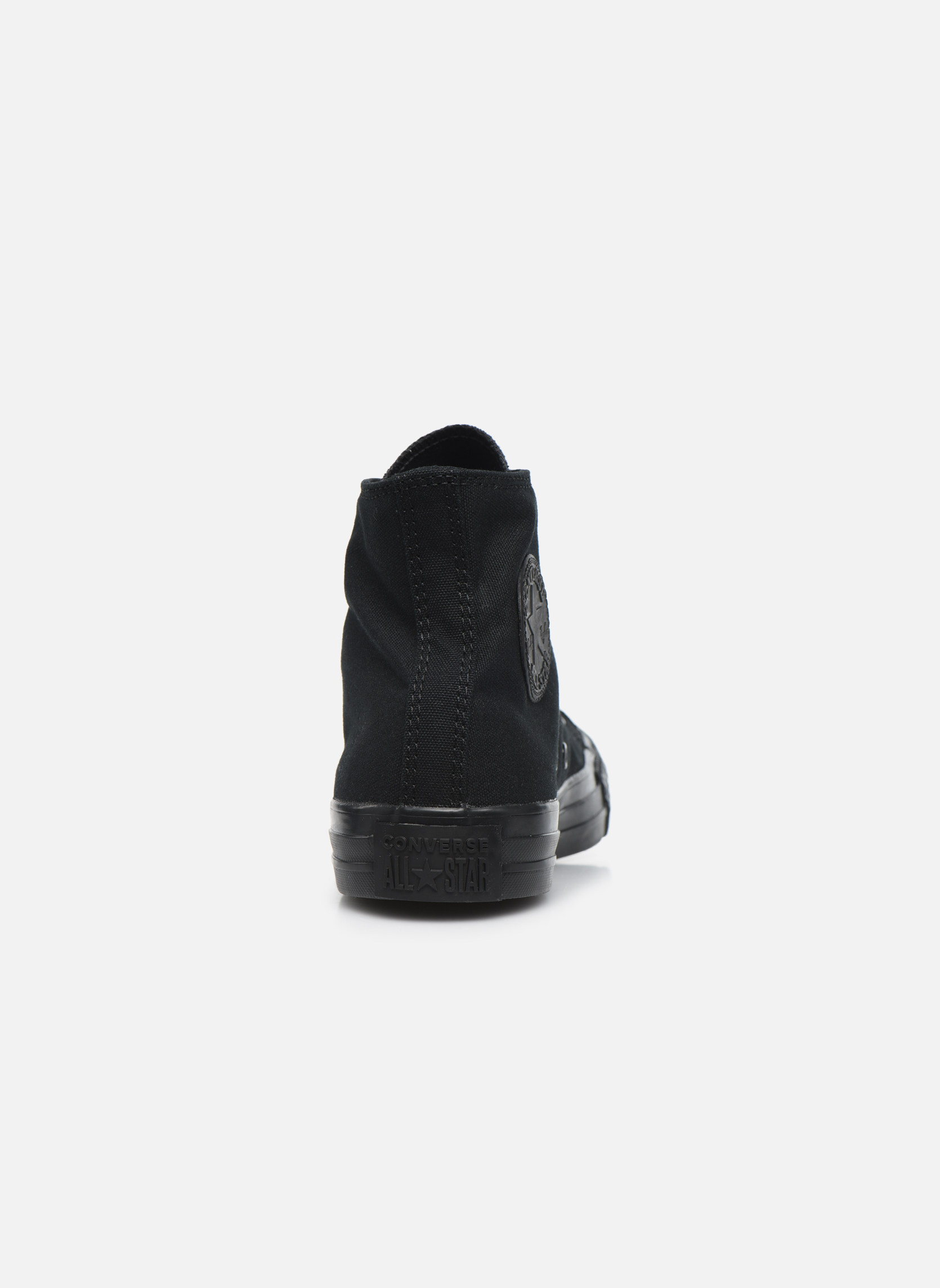 Sneakers Converse Chuck Taylor All Star Monochrome Canvas Hi W Zwart rechts