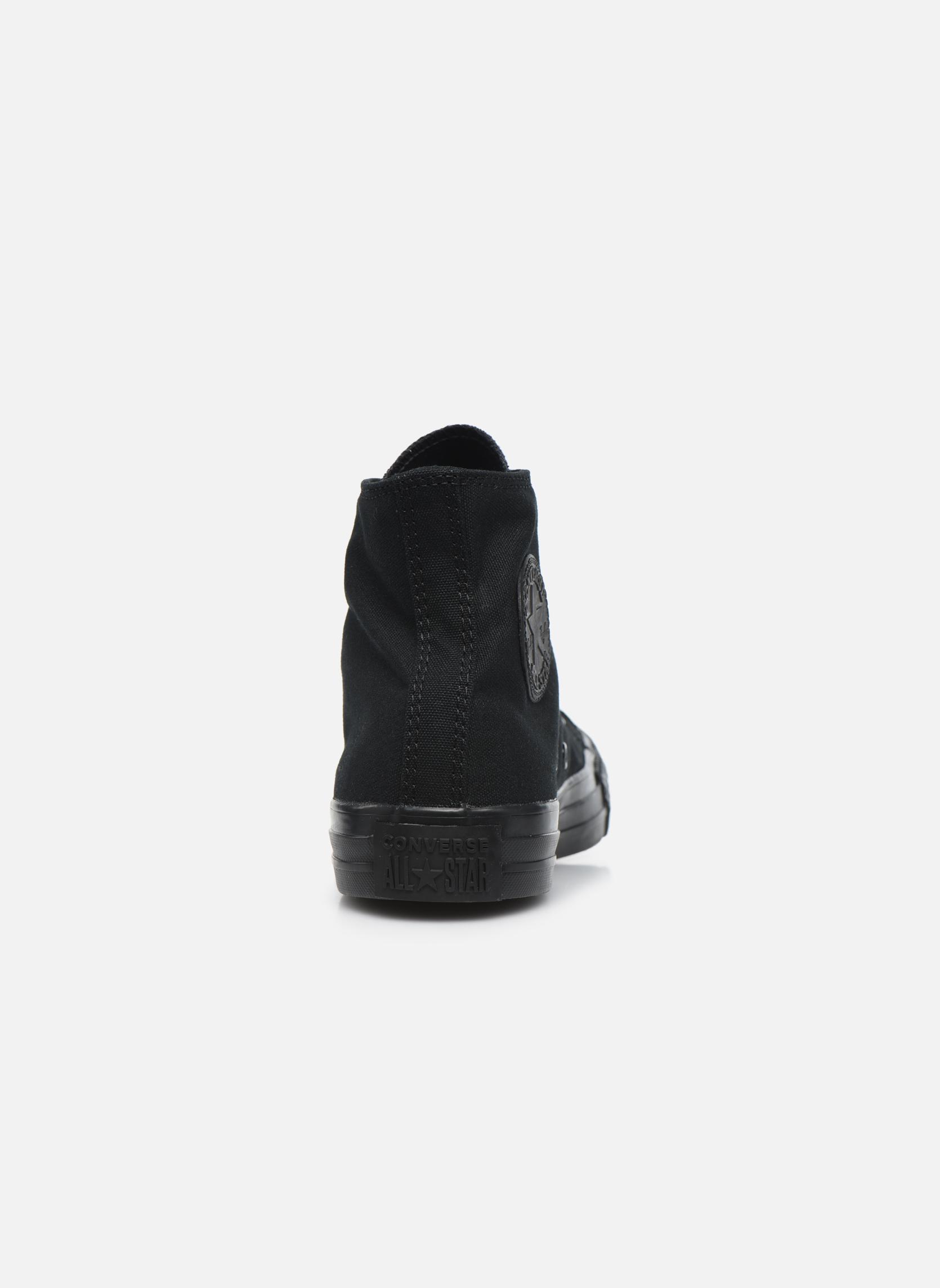 Sneakers Converse Chuck Taylor All Star Monochrome Canvas Hi W Nero immagine destra