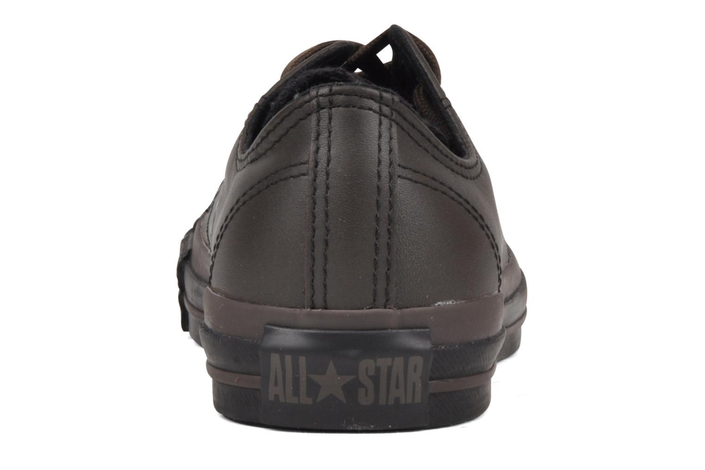 Baskets Converse Chuck Taylor All Star Soft Leather Ox W Noir vue droite