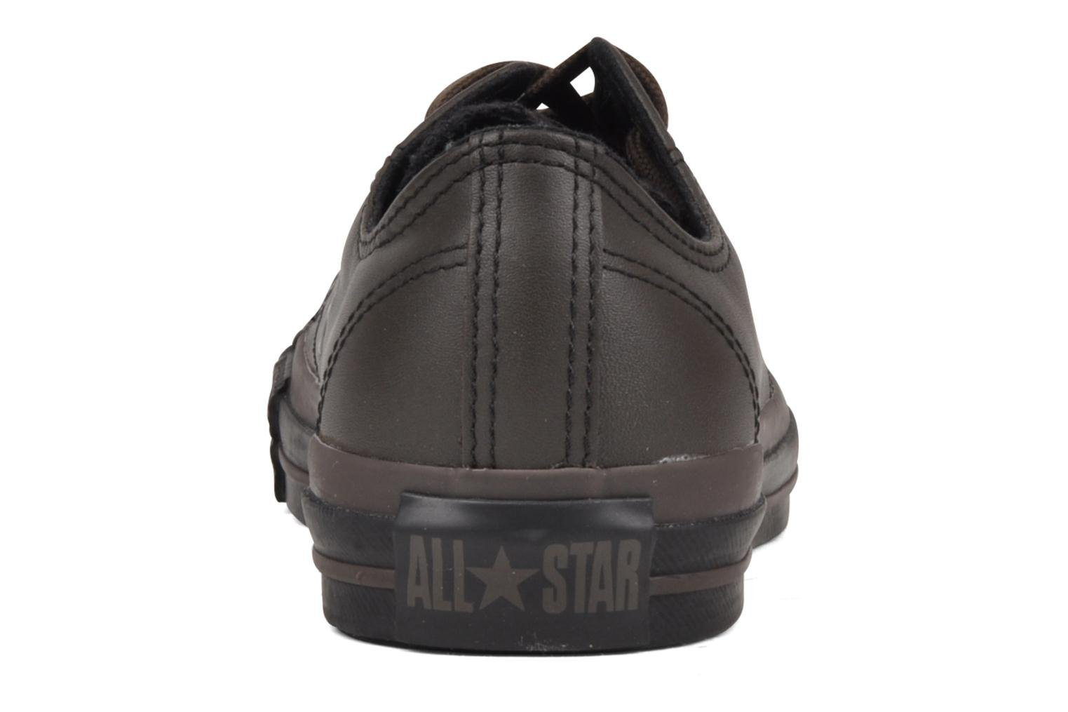 Trainers Converse Chuck Taylor All Star Soft Leather Ox W Black view from the right