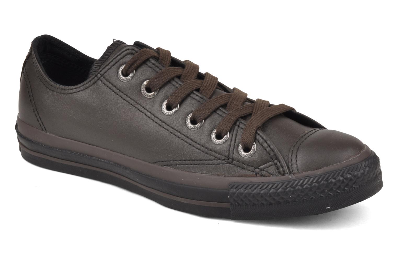 Baskets Converse Chuck Taylor All Star Soft Leather Ox W Noir vue détail/paire
