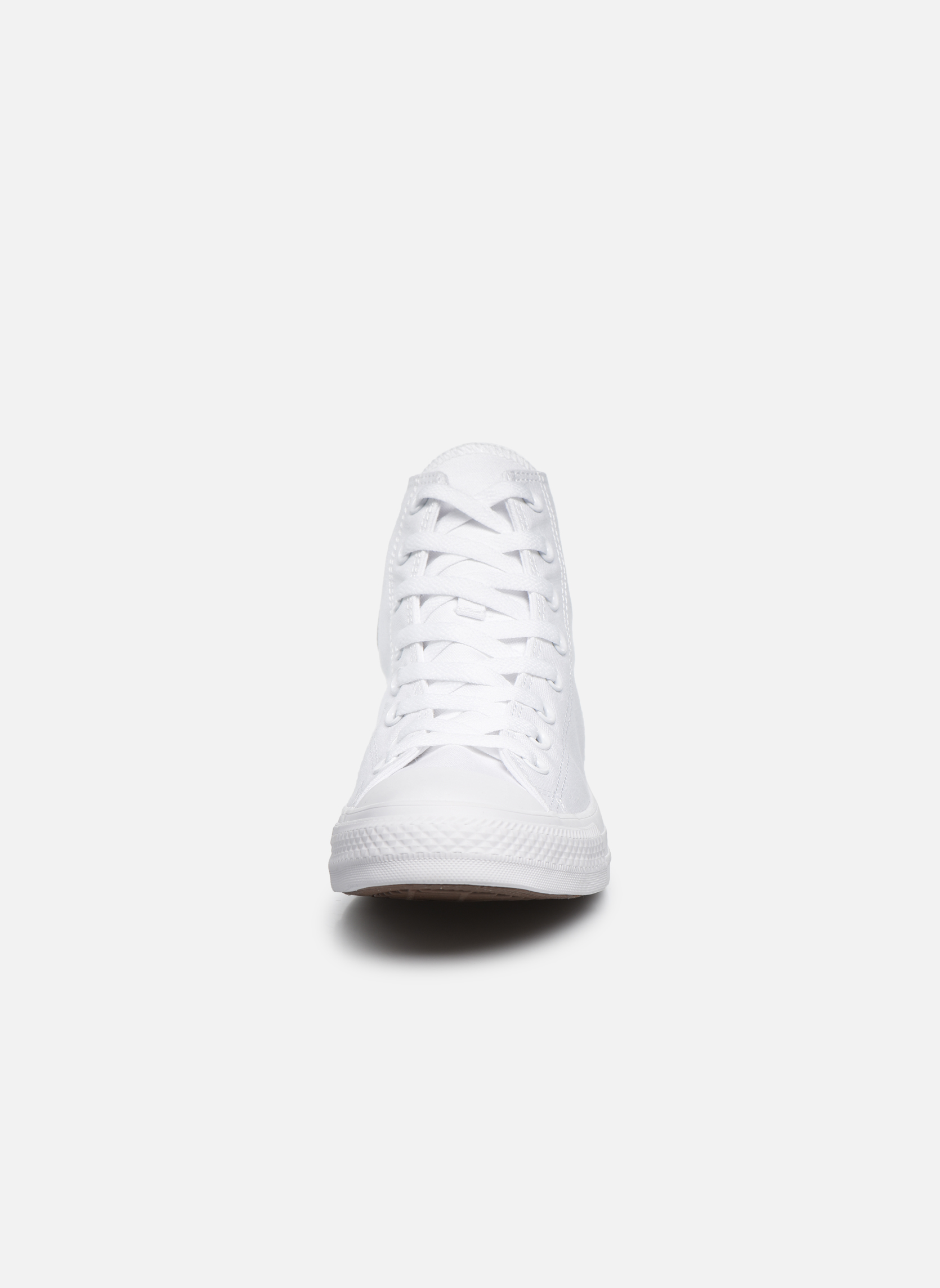 Trainers Converse Chuck Taylor All Star Monochrome Canvas Hi M White model view
