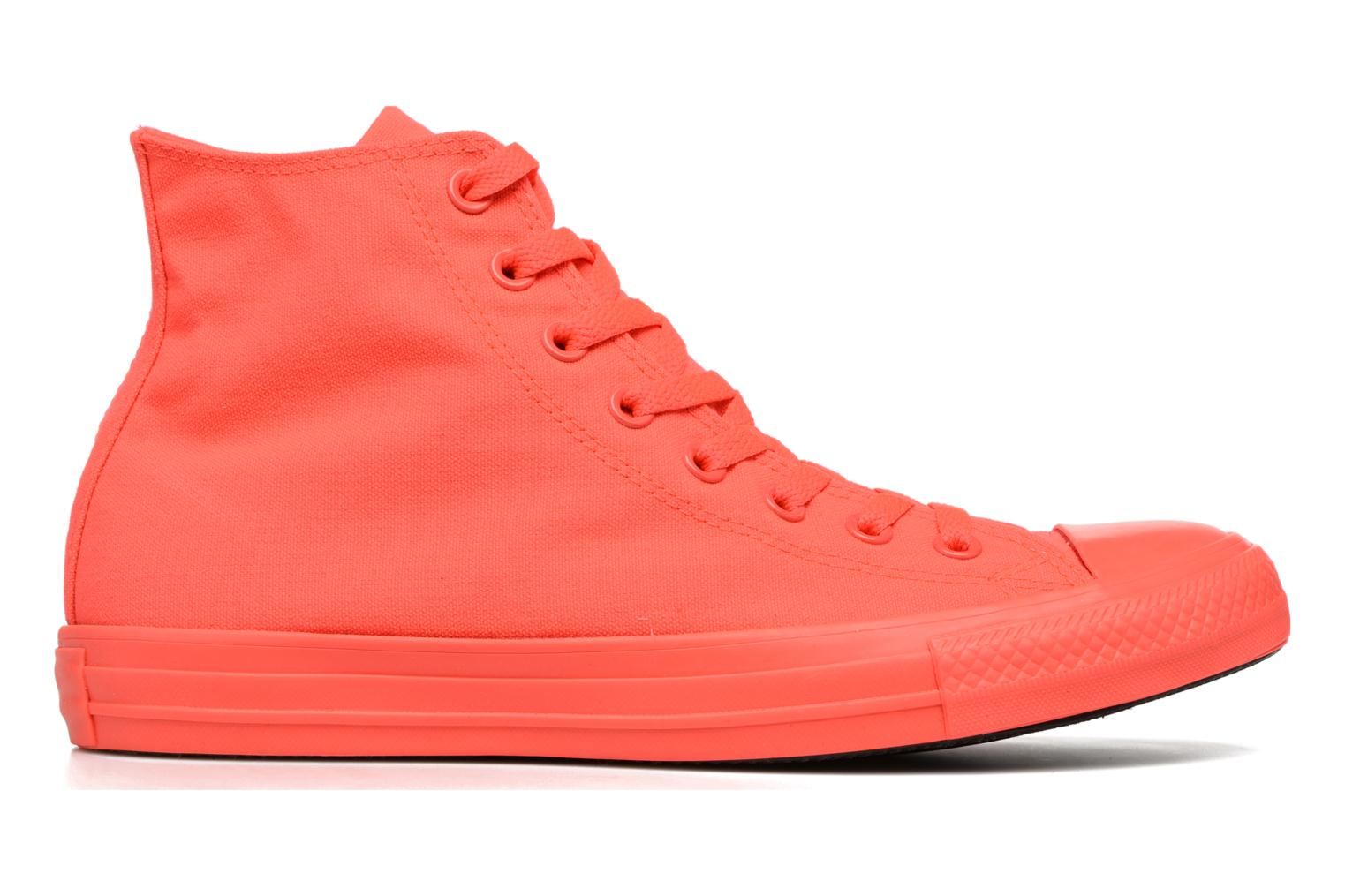 Trainers Converse Chuck Taylor All Star Monochrome Canvas Hi M Red back view