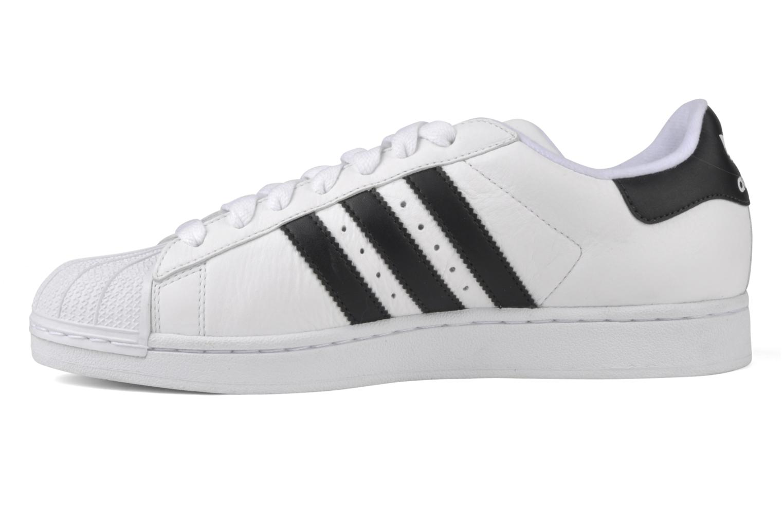 Baskets Adidas Originals Superstar II Blanc vue face