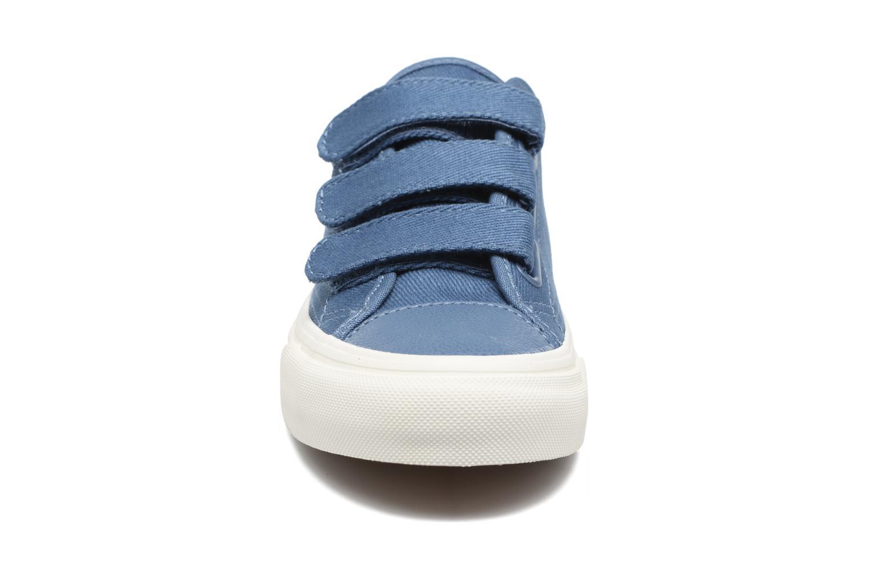 Baskets Vans Prison Issue W Bleu vue portées chaussures