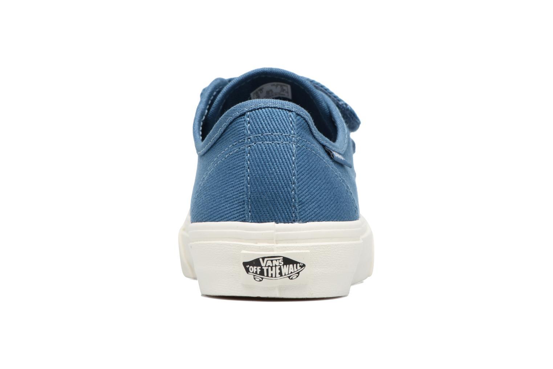 Baskets Vans Prison Issue W Bleu vue droite