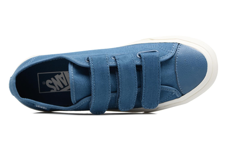 Baskets Vans Prison Issue W Bleu vue gauche