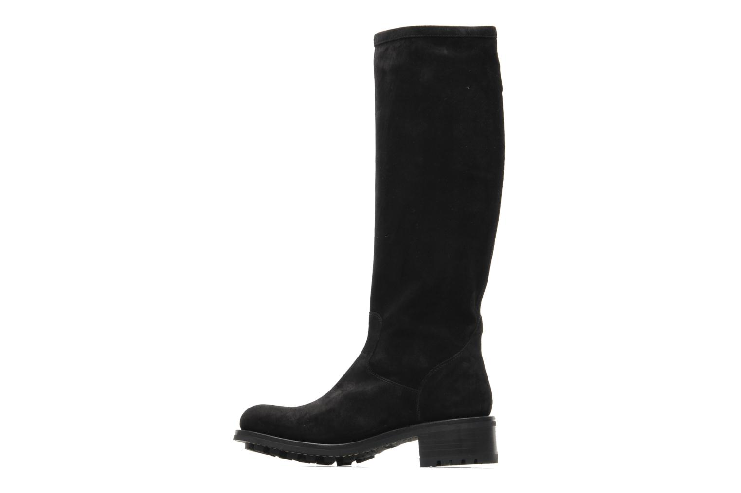 Boots & wellies Free Lance Biker 4 Geronimo Black front view