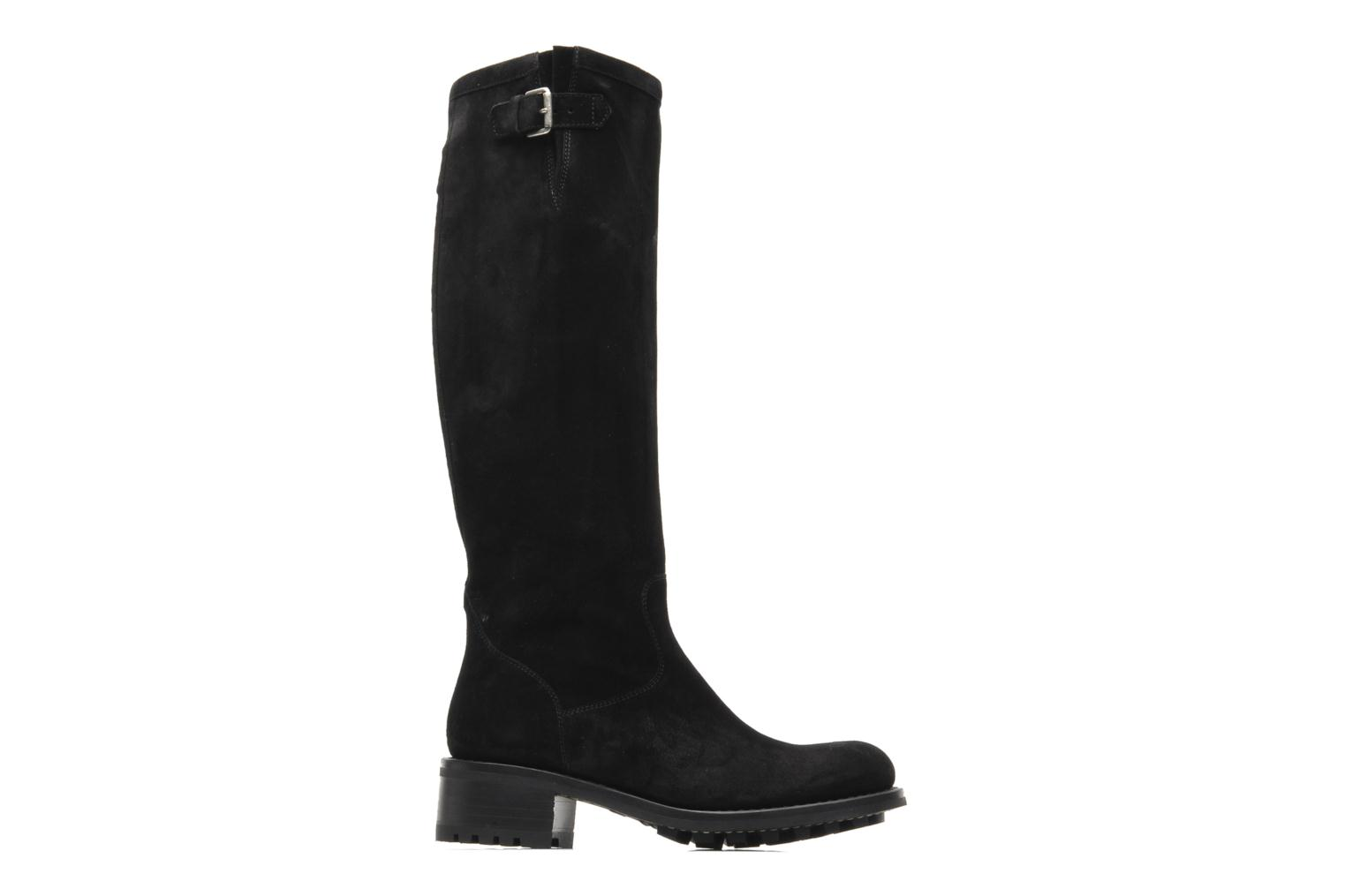 Boots & wellies Free Lance Biker 4 Geronimo Black back view