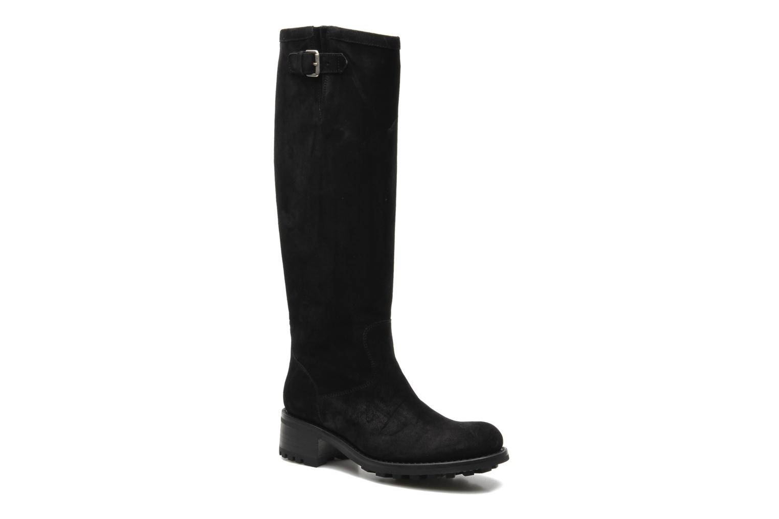 Boots & wellies Free Lance Biker 4 Geronimo Black detailed view/ Pair view