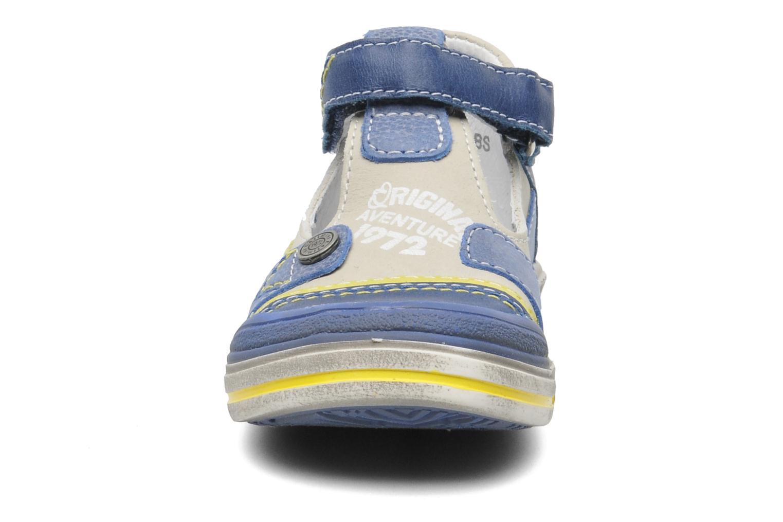 Chaussures à scratch Catimini Cameleon Gris vue portées chaussures