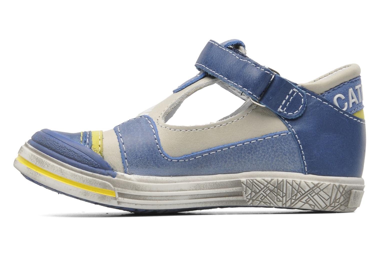 Chaussures à scratch Catimini Cameleon Gris vue face