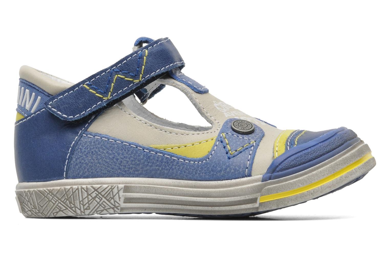 Chaussures à scratch Catimini Cameleon Gris vue derrière
