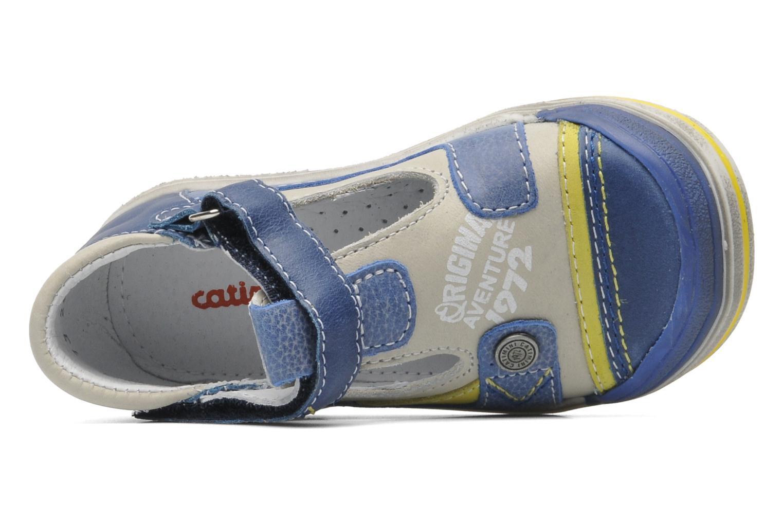 Chaussures à scratch Catimini Cameleon Gris vue gauche