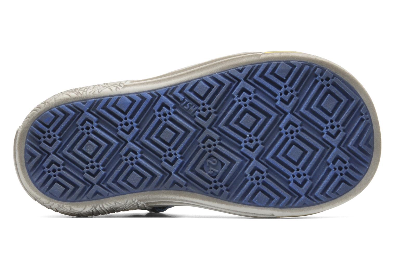 Chaussures à scratch Catimini Cameleon Gris vue haut