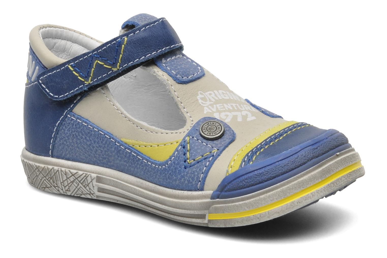 Chaussures à scratch Catimini Cameleon Gris vue détail/paire